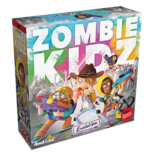 Le Scorpion Masque LSMD0008 Asmodee Zombie Kidz Evolution Brettspiel, Merhfarbig, bunt