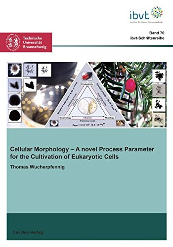 Cellular Morphology: A novel Process Parameter for the Cultivation of Eukaryotic Cells (Schriftenreihe des Institutes für Bioverfahrenstechnik der Technischen Universität Braunschweig)