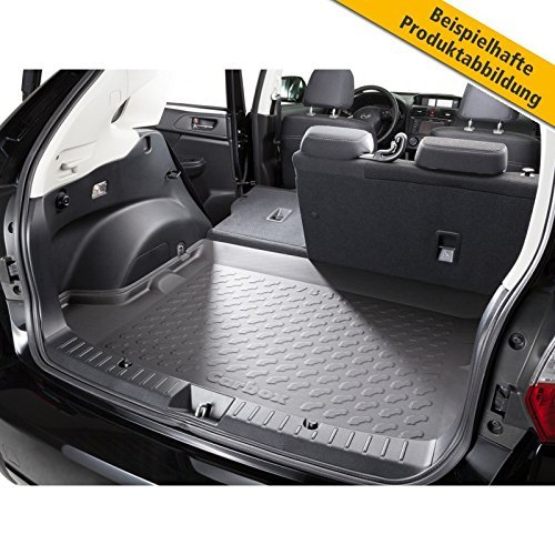 Preisvergleich Produktbild Formschale Kofferraumwanne Kofferraummatte schwarz passend für das unten genannte Fahrzeug.