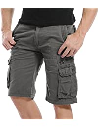 06926817b0 AYG Cargo Shorts Bermudas Hombre Pantalones Cortos Laboral 29-40