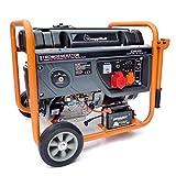 KnappWulf KW8300Groupe électrogène à essence de secours Courant triphasé 230V + 400V