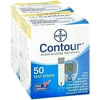 CONTOUR Sensoren Teststreifen 100 St Teststreifen preisvergleich bei billige-tabletten.eu