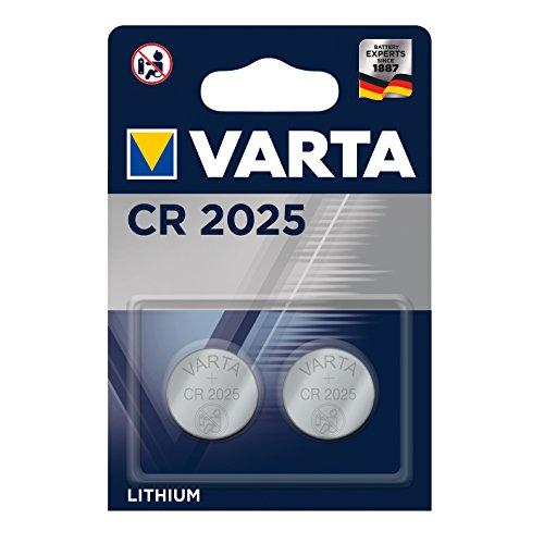 Varta - Pile Electronique Lithium CR2025 x 2