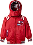 Fort Collins Boys' Regular Fit Jacket (R17019_Red_22 (3-4 Years))