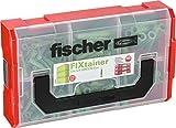 Fischer 532894 FIXtainer UX-GREEN-Box, 210 Teile