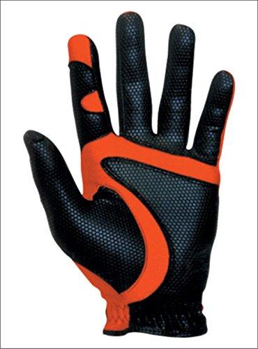 Fit39 EX Golf Glove (Medium, Black/Red)