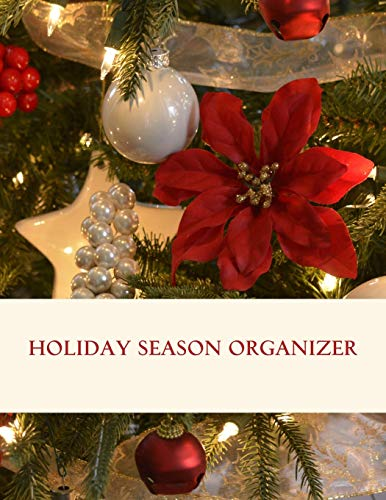 Holiday season organizer: Templates for planning the perfect Thanksgiving, Christmas and New Year's Eve. It includes menu planners, shopping lists, ... about decorations, gifts, cards and more.