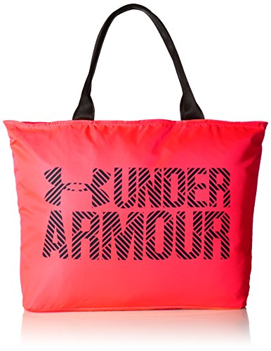 Under Armour Bolso Grande para Mujer Wordmark 2.0, Color Marathon Red, tamaño Talla única