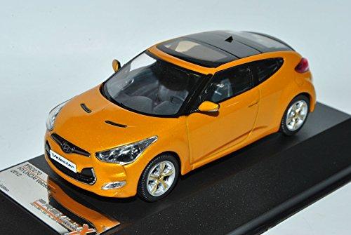 Hyundai Veloster Coupe Orange Ab 2011 1/43 PremiumX Modell Auto Hyundai Modell Auto