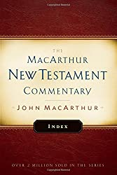 MacArthur New Testament Commentary Index (The Macarthur New Testament Commentary) by John F MacArthur (2016-08-02)