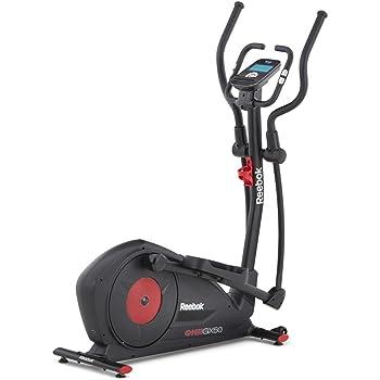 Reebok Gx50 Cross Trainer - Bicicleta elíptica con programas, color negro