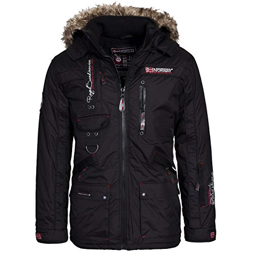 Geographical Norway Avoriaz Men Winterjacket Black, Größenauswahl:XXXL