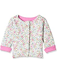 Mothercare Baby Girls' Quilted Regular Fit Synthetic Jacket