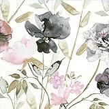 20 Servietten Stiefmütterchen Vintage Blumenmuster Trauer 33 x 33cm
