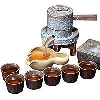 Juegos de té cerámica Juego Completo automáticos de Kung Fu Juego de Tazas Retro para Tetera