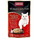 Animonda Katze Vom Feinsten mit Hühnchenfilet + Rindfleisch 50g Größe 18 x 50g