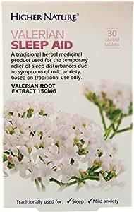 Higher Nature Valerian Sleep Aid - Pack of 30 Tablets