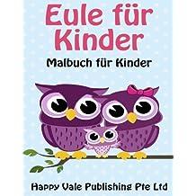 Eule für Kinder: Malbuch für Kinder