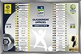 LFP - Ligue 1 et Domino's Ligue 2: Tableau magnétique de classement Officiel (2017/2018)...