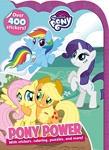 Pony Power: With stickers, coloring, puzzles, and more! (My Little Pony)