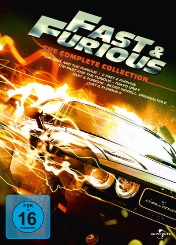 fast and furious dvd box Fast & Furious - The Complete Collection [5 DVDs]