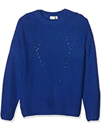 Name It Nitdineon Ls Knit Oneck Nmt, Pull Fille