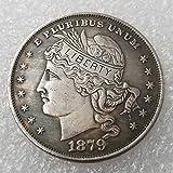 YunBest 1879 Lot de 100 pièces de Monnaie américaines Anciennes - 100 pièces de Monnaie - Best Old Original - USA Ancienne pièce de Monnaie - Uncirculated/Collectable État BestShop...