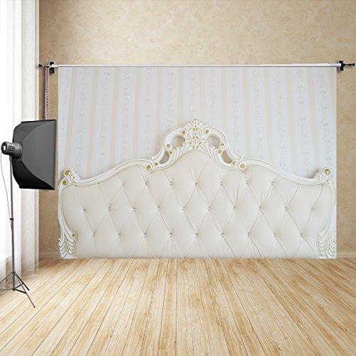 FiVan DE 125*200cm Im europäischen Stil Bett Fotografie Hintergrund Kinder home interior Foto Fotografie Hintergrund Requisiten FD-7329 -