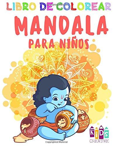 Libro para colorear Mandala para niños pequeños ~ Fácil mandalas: figuras, pájaros,...