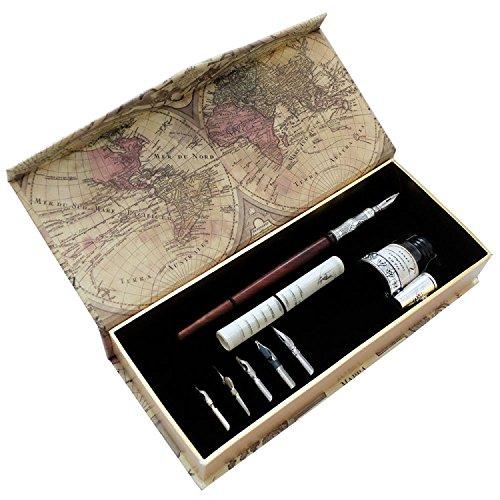 pluma-de-madera-artisome-hecha-a-mano-con-tinta-y-seis-puntas-pa-18
