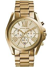 Michael Kors Reloj Cronógrafo para Mujer de Cuarzo con Correa en Acero Inoxidable MK5605
