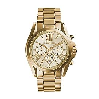 Michael Kors Reloj analogico para Mujer de Cuarzo con Correa en Acero Inoxidable MK5605