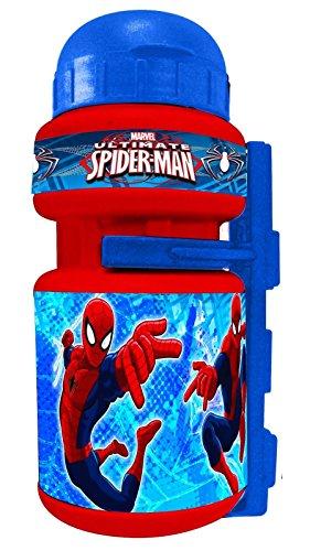 Bidon con Portabidon Infantil Niño Niña compatible con Spiderman para Bicicleta 35685 6213