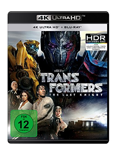 Bild von Transformers 5 - The Last Knight  (4K Ultra HD) (+ Blu-ray) (+ Bonus-Disc)
