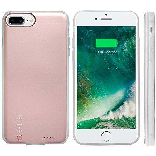 iPhone 6/7/8Plus nuova custodia–ultra sottile magnetico iPhone Plus del caricatore con porta Lightning–Custodia protettiva, sincronizzazione thru iPhone custodia di ricarica e 12mesi di garanzia