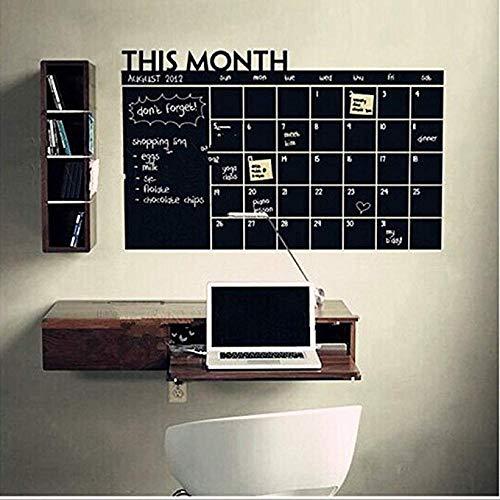Dzyzbz Selbstklebende Mehrzwecktafel Kontaktpapier Wandaufkleber/Message Board Decal