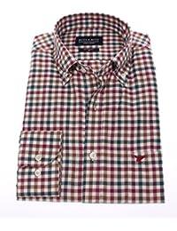 camicia Ultimi mesi Uomo bordeaux it Amazon Abbigliamento tre m n4vaUq
