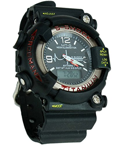 Gee Aar impex sports watch collections Analog Black Dial Men's Watch - MTG201214