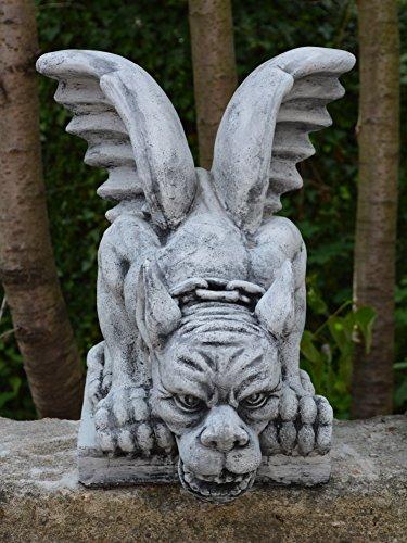 gartendekoparadies.de Herrlicher Riesen – Gargoyle Torwächter aus Steinguss, frostfest