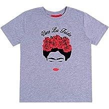 08abfd24a PRIMARK - - sarcia.eu Camiseta Gris Viva La Frida