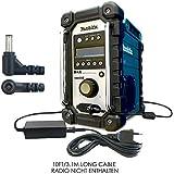ABC Products® Ersatz Makita Akku Ladegerät, AC / DC Netzteil, Netzadapter, Netzanschluss 12V / 12 Volt (S49) für BMR100, BMR100W, BMR101, BMR101W, BMR102, BMR102W, BMR103, BMR103B, BMR103Z, BMR104, BMR104W, BMR105, BMR105W, LXRM02, LXRM03, LXRM03B Job Site / Analogue / DAB Digital Radios etc
