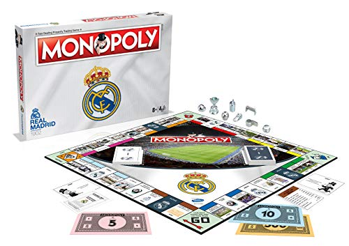 Real Madrid 17/18 Football Club Monopoly Board Game