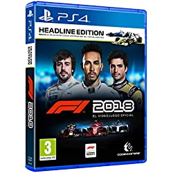 1 de F1 2018 Headline Edition, PlayStation 4