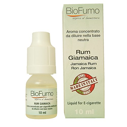E liquid concentrated for electronic cigarette flavour Jamaica Rum 10ml,concentrate flavour to be diluted with neutral basis for all e-cigarette,concetrate liquid for e-cig 0mg Nicotine &tobacco free