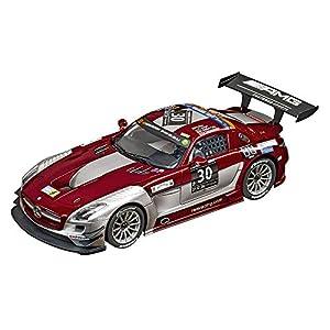 "Carrera Toys-Mercedes-Benz SLS AMG GT3 Ram Racing, No. 30"" 24 h of Dubai 2015, Multicolor (Stadlbauer 20023864)"