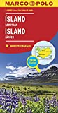 MARCO POLO Länderkarte Island, Färöer 1:650 000 (MARCO POLO Länderkarten) - Collectif
