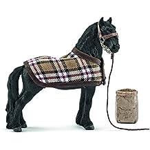 Schleich - Set de cuidado de caballos, frisón (42269)