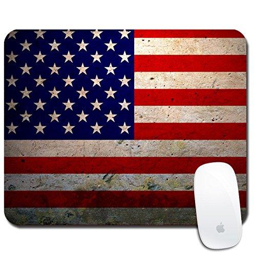 Bandera, Trompeta De Juego, Mouse Pad, Dibujos Animados, Linda Oficina Ordenador Portatil, Pequeña Alfombrilla De Ratón, Antideslizante Base Engrosamiento (20Cmx18Cm, 0.3Cm),C2
