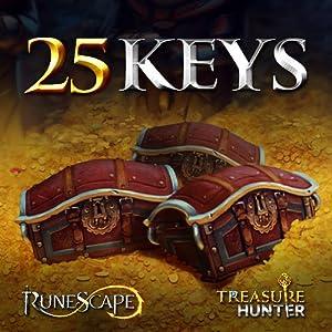 25 Schatzjäger-Schlüssel: RuneScape [Sofort-Zugang] [Game Connect]