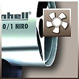 Einhell Heißluftgenerator HGG 110/1 Niro (Nennwärmeleistung 10 kW, Heizmantel aus verzinktem Stahlblech, Piezozündung, Druckregler, Tragegriff) - 2